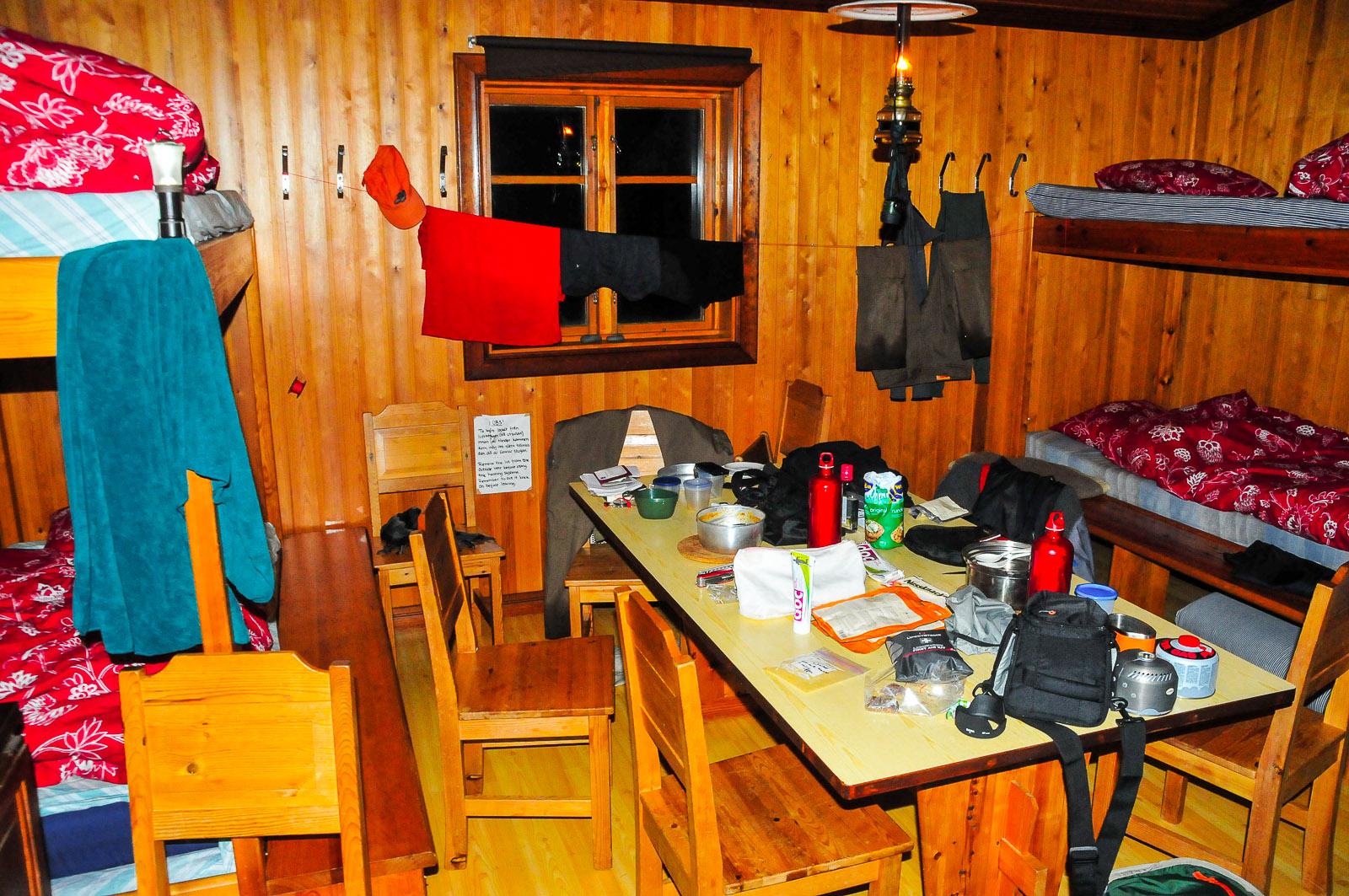 Unterkunft in Staluluokta